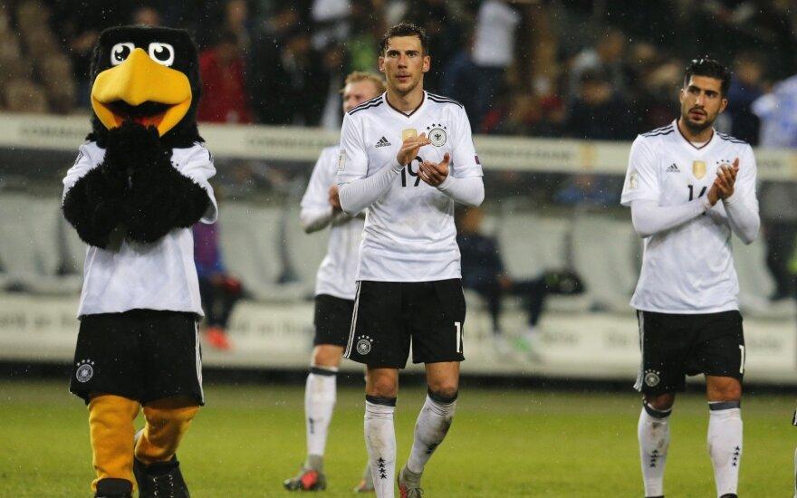 Leon Goretzka Emre Can Vokietijos futbolo rinktinė