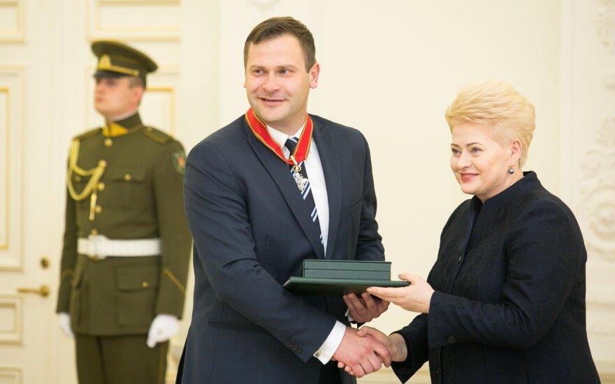 Mindaugas Bilius, Dalia Grybauskaitė