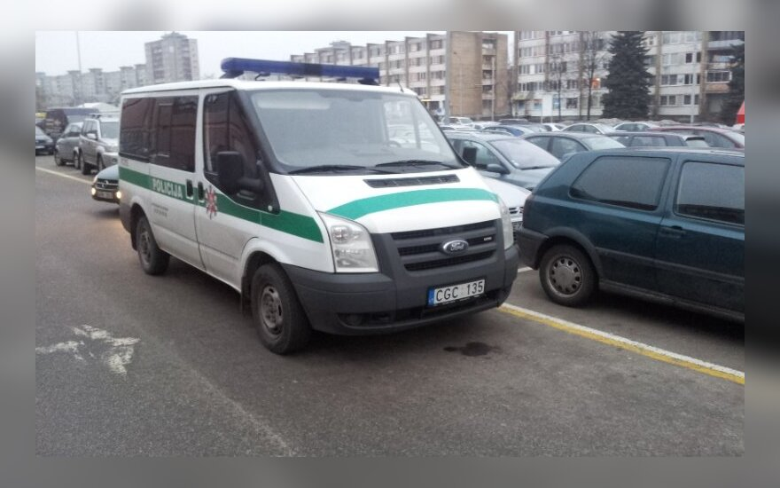 Kaune, prie PC Savas. 2013-01-09