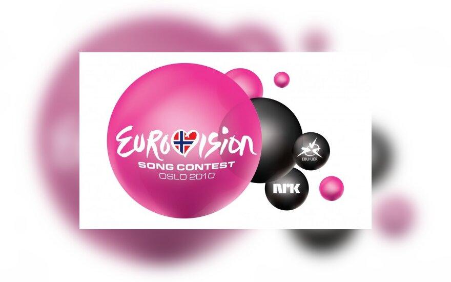 """""""Eurovizijos""""  ženklas"""