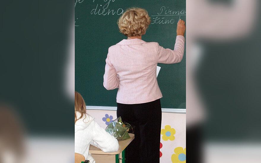 Klasė, mokykla, mokytoja