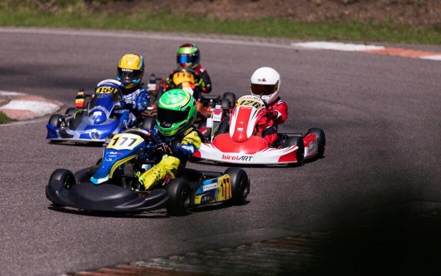 """Rekordinis dalyvių skaičius pirmajame """"Rotax Max Lithuania Challenge powered by Spark Energy"""" etape"""
