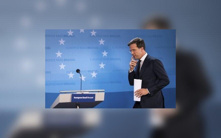 M. Rutte: saugumo situacija regione lieka prasta, todėl NATO turi toliau prisiimti atsakomybę