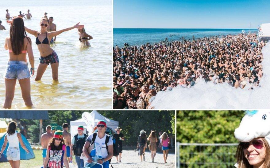 "Festivalio ""Karklė Live Music Beach"" akimirkos"