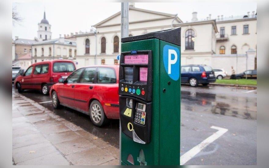 Automobilių stovėjimas Vilniuje brangs