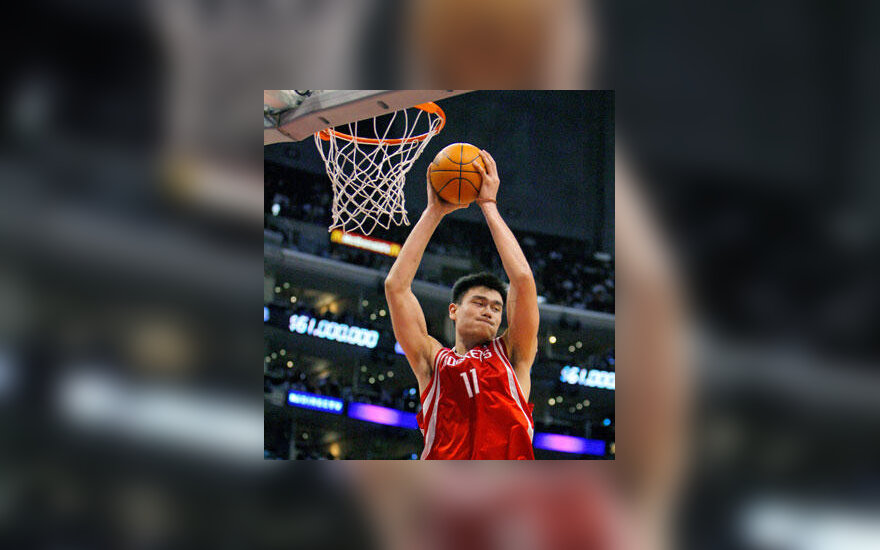 """Yao Ming (""""Rockets"""")"""