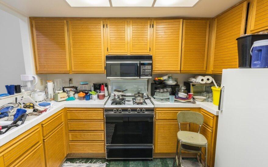 Netvarkinga virtuvė