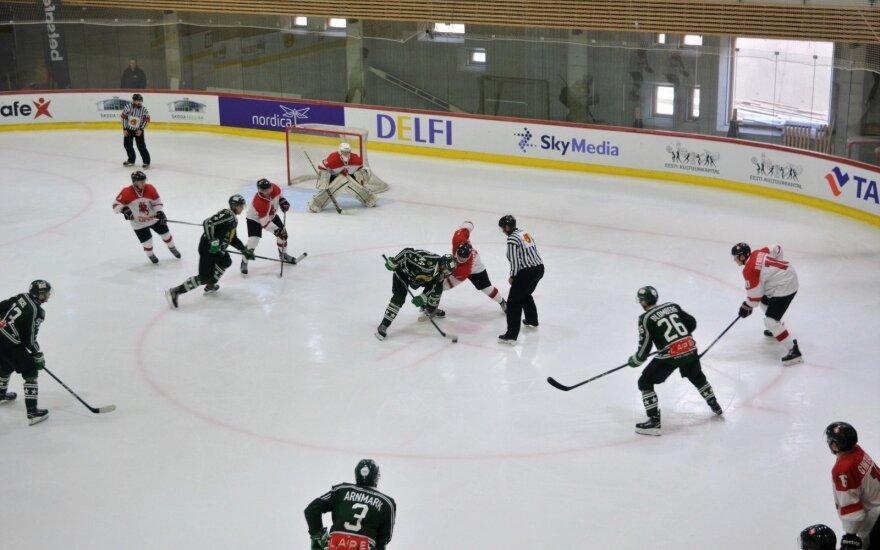 Lietuvos ledo ritulininkų akistata