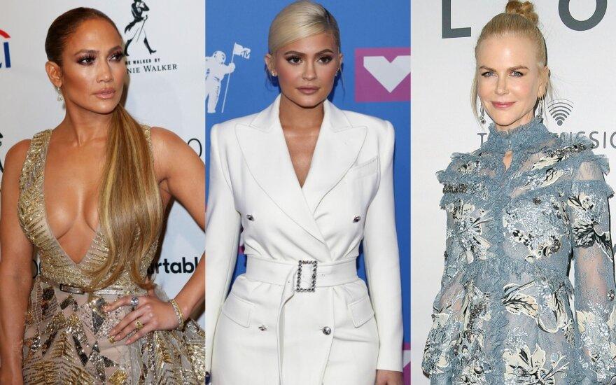 Jennifer Lopez, Kylie Jenner, Nicole Kidman