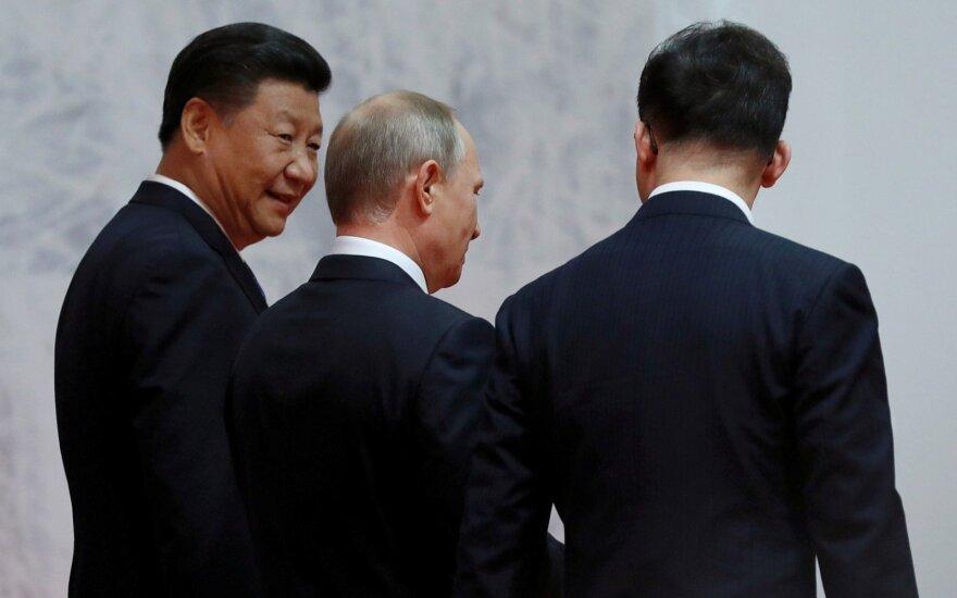 Kinija organizuoja regioninį viršūnių susitikimą, tvyrant įtampai su JAV