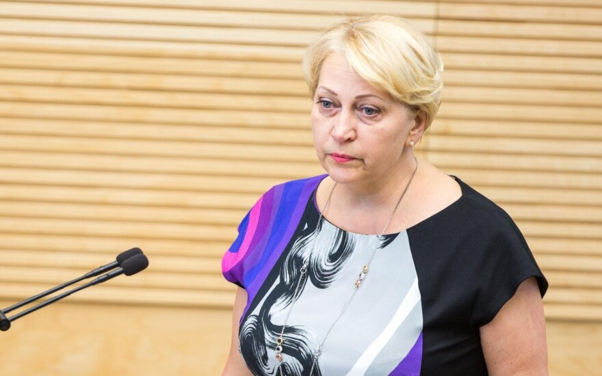 Finance Minister Rasa Budbergytė