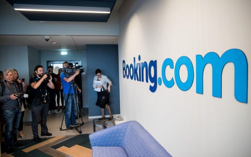 Booking.com biuro atidarymas