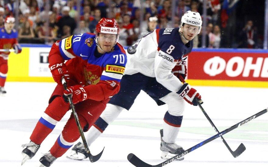 Ledo ritulys: JAV – Rusija