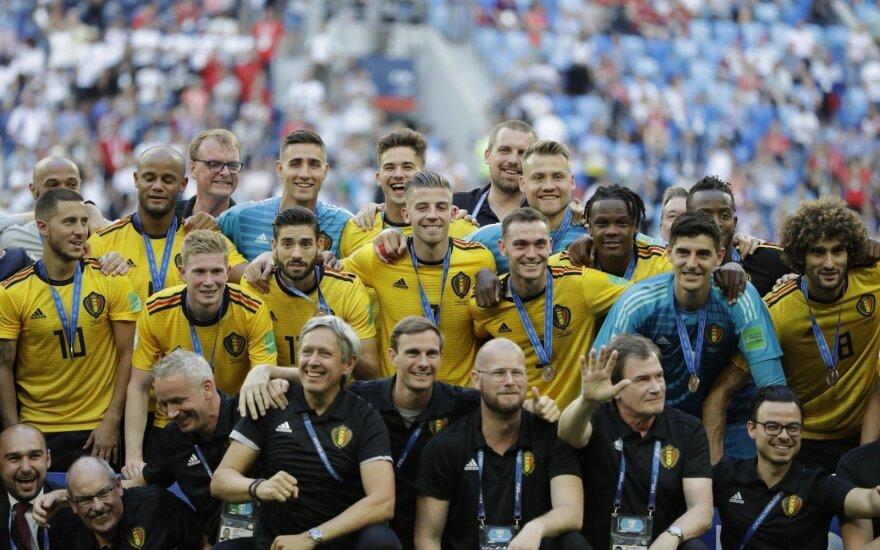 Pasaulio futbolo čempionatas: Anglija - Belgija