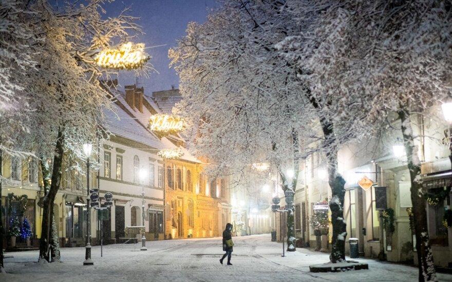 Į Lietuvą po truputį sugrįžta sniegas
