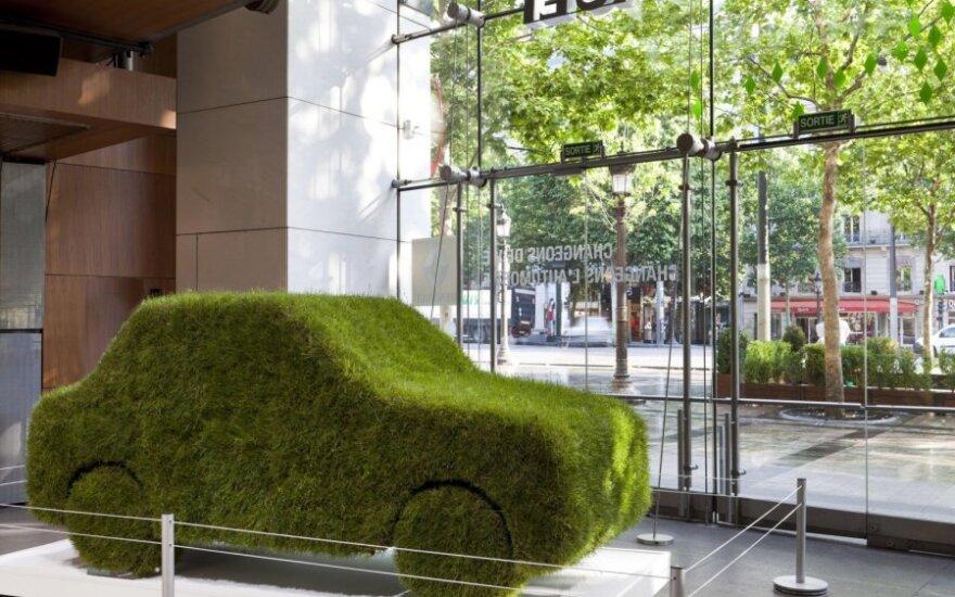 Ekologiškas automobilis, žalia mašina