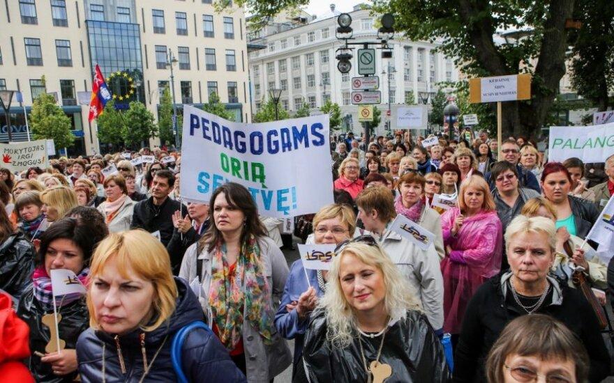 Pedagogų streikas: nesąžiningas ar pagrįstas?