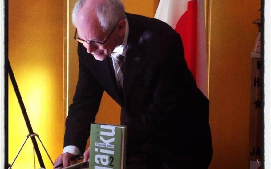 Hermanas Van Rompuy pristatė savo knygą