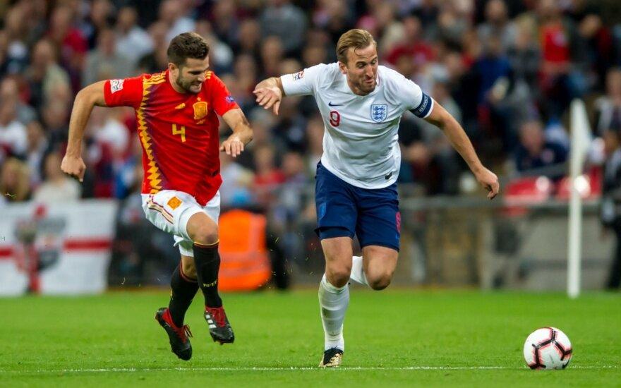 UEFA Tautų lyga: Ispanija - Anglija