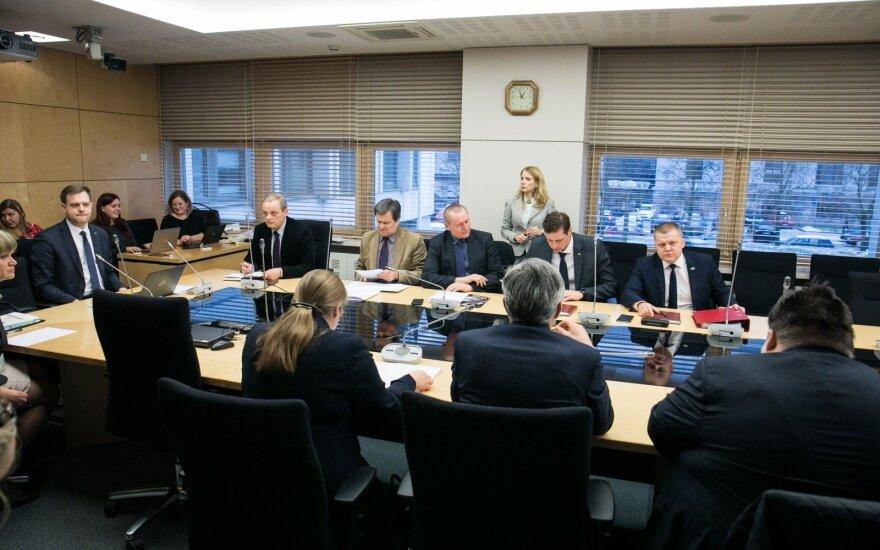 Laikinosios tyrimo komisijos (dėl LRT veiklos) posėdis