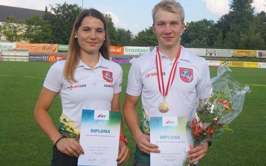 Austėja Kalvaitytė ir Ignas Ambrazas