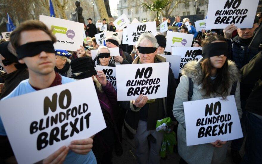 """Demonstracija prieš """"Brexit"""""""