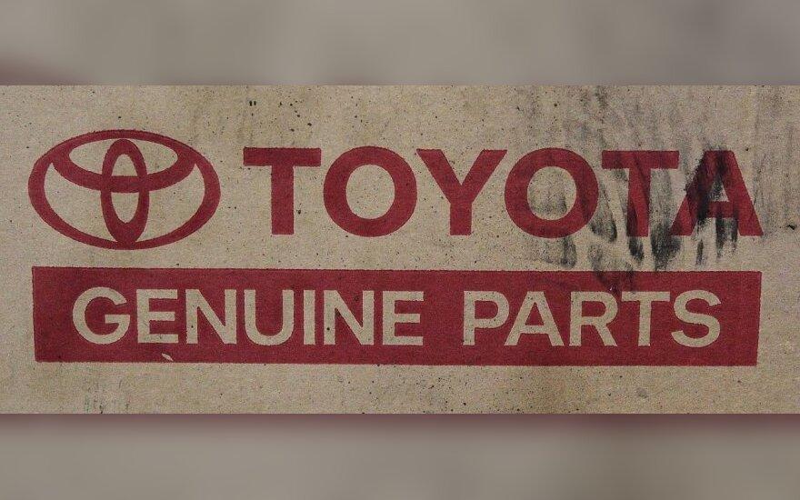 """""""Toyota"""" atšaukia dar 2,17 mln. automobilių"""