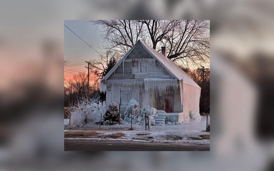 Ledinis namas