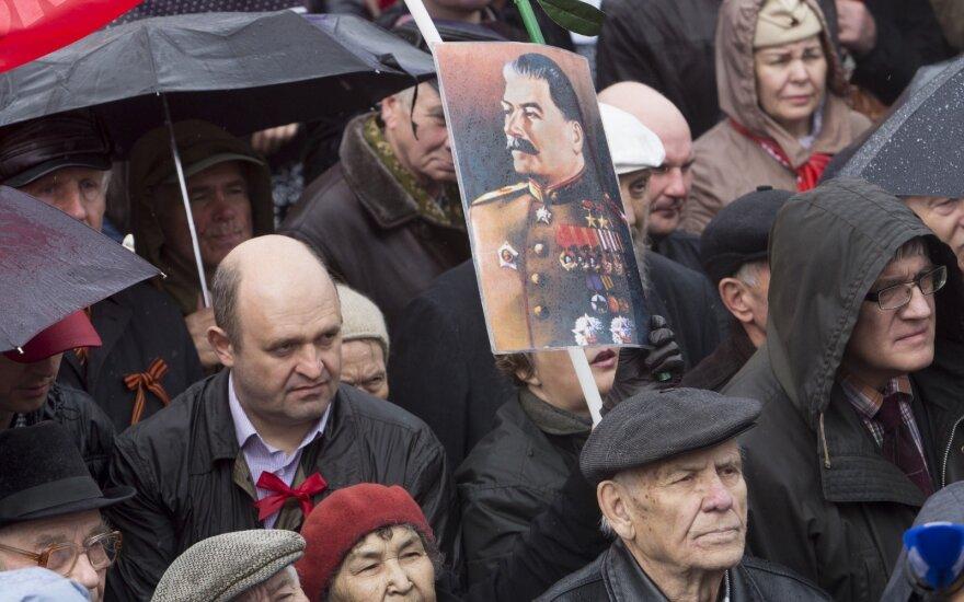 Rusijoje pagerbė Stalino teroro aukas