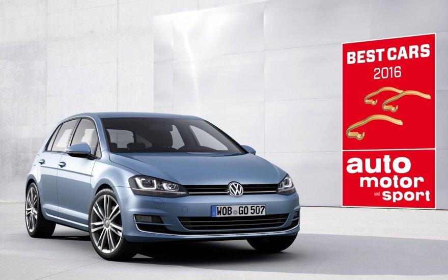 """Volkswagen Golf"" laimėjo nominaciją"