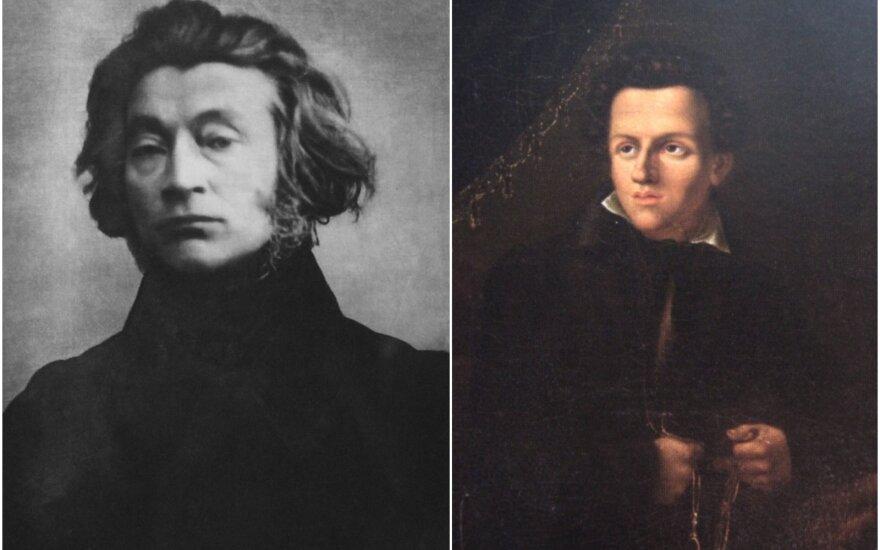 Adomas Mickevičius ir Julijus Slovackis