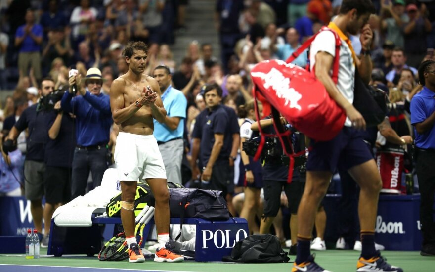 """""""US Open"""" turnyre – seserų akistata, estės ir latvės pergalės bei ruso iššūkis Nadaliui"""