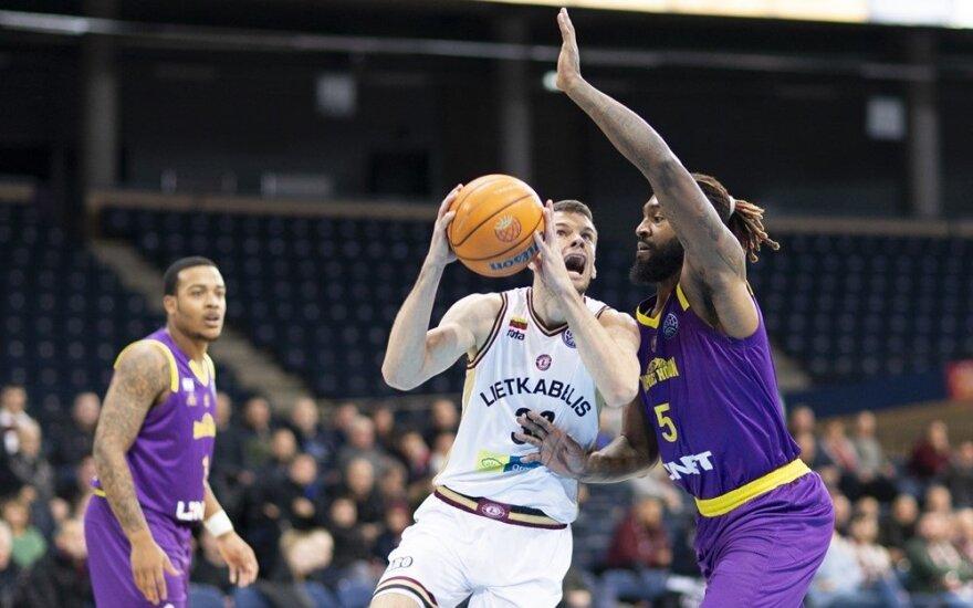 """FIBA Čempionų lygoje – trečia iš eilės """"Lietkabelio"""" pergalė"""