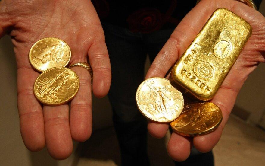 Istorija rodo: aukso kainų šuolis gali būti tik pradžia