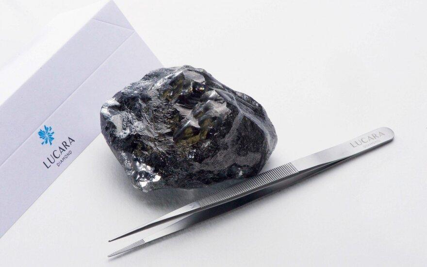 Botsvanoje rastas 1758 karatų deimantas