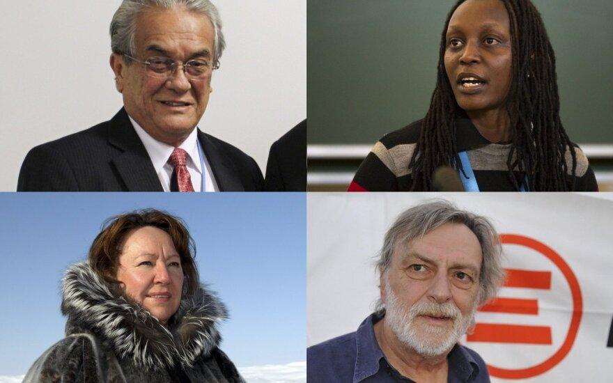 Paskelbti Alternatyviosios Nobelio premijos laureatai