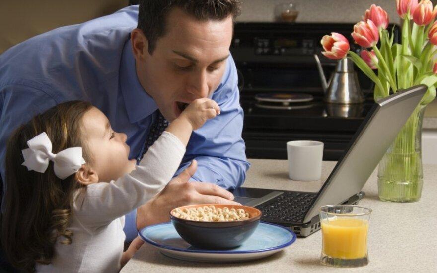 Tyrimas: darbas namie kenkia produktyvumui