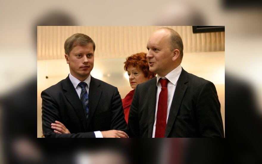 Andrius Kučinskas ir Kęstutis Kriščiūnas