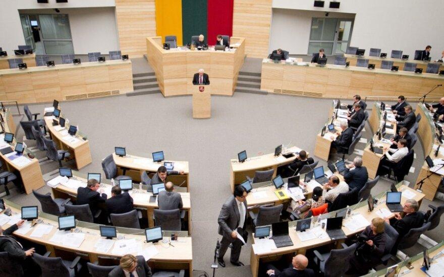 Kitą savaitę rengiami nenumatyti Seimo posėdžiai
