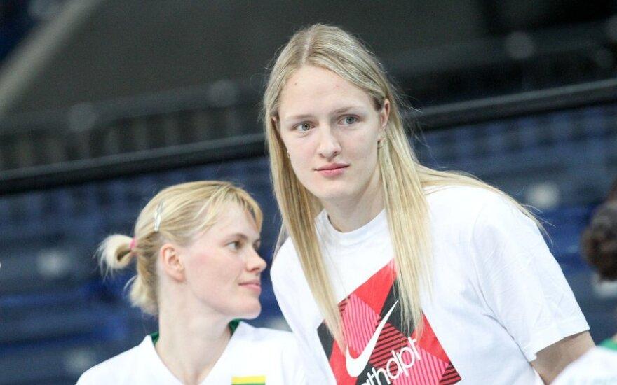Milda Sauliūtė ir Gintarė Petronytė b