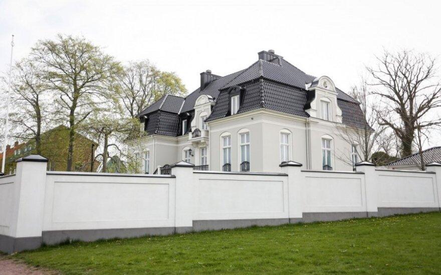 A. Pojavis apžiūrėjo prašmatnius Zlatano Ibrahimovičiaus rūmus