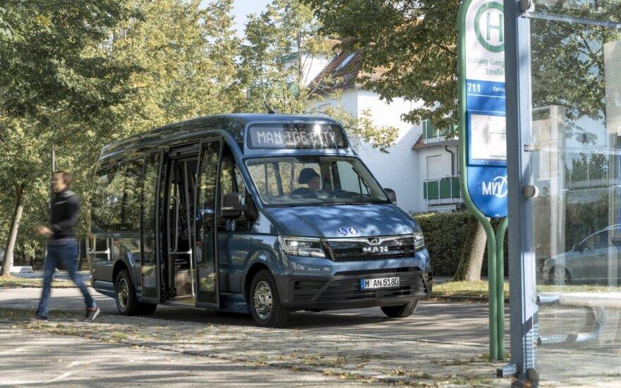 Lietuvoje bus gaminami mažieji elektriniai autobusai – eksportuos į Europą