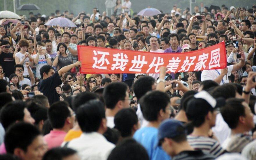 Protestas Kinijoje