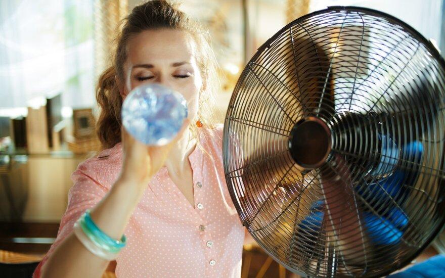 Pasidalink nuotrauka! Priemonės, kurios man padeda kovoti su karščiu namuose