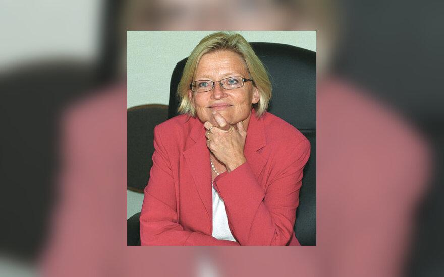 Švedijos užsienio reikalų ministrė Anna Lindh