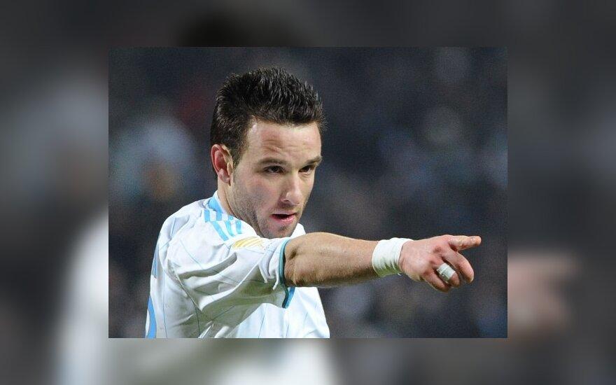 """Mathieu Valbuena (""""Marseille"""")"""