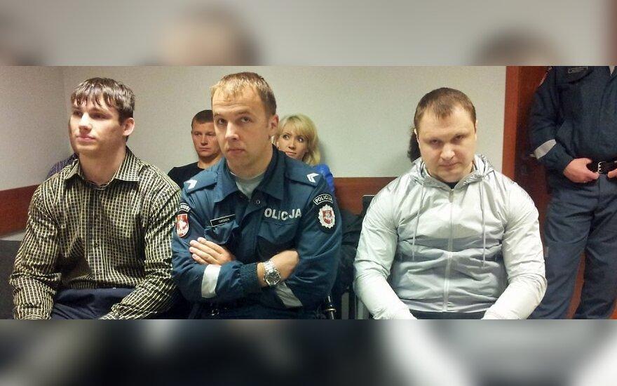 Stanislavas Romeika (kairėje) ir Saulius Jankūnas