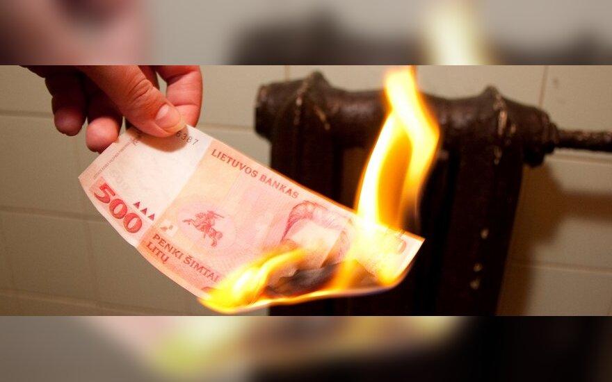 D.Janulionis: niūri prognozė pildosi – dujos kainuoja 37 proc. daugiau