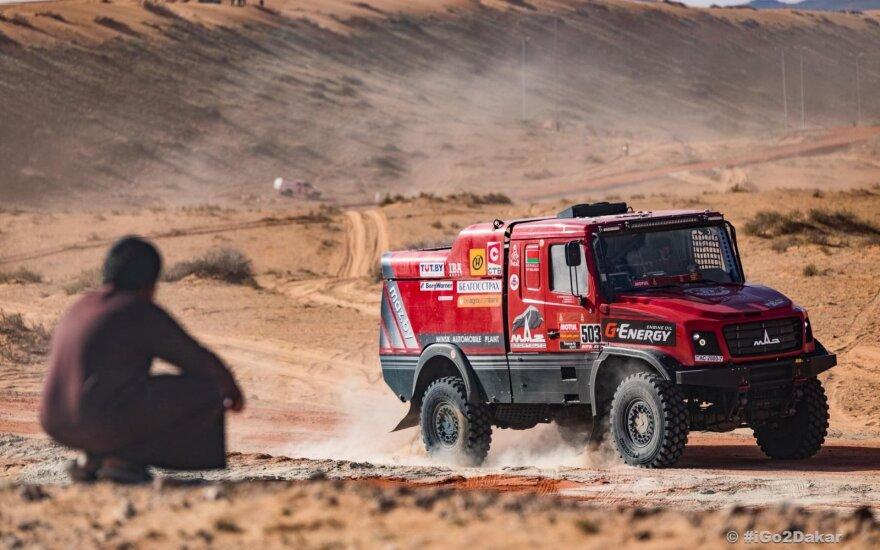 MAZ komandos sunkvežimis 2020 m. Dakaro ralyje