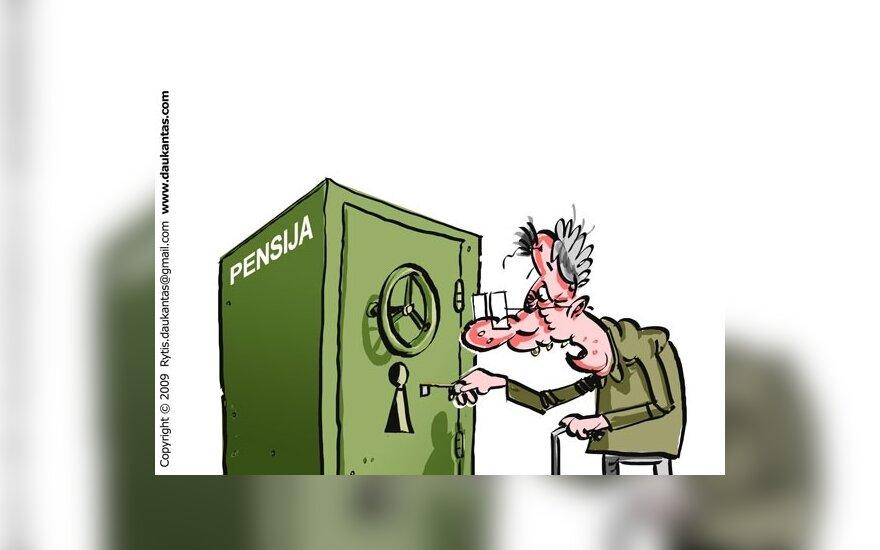 Advokatas: teismams skundus dėl sumažintų pensijų pateikė apie 20 pensininkų